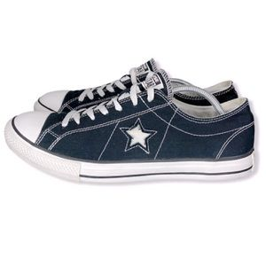 Converse One Star Low Tops.